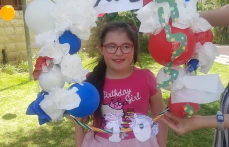 הלל חוגגת יום הולדת
