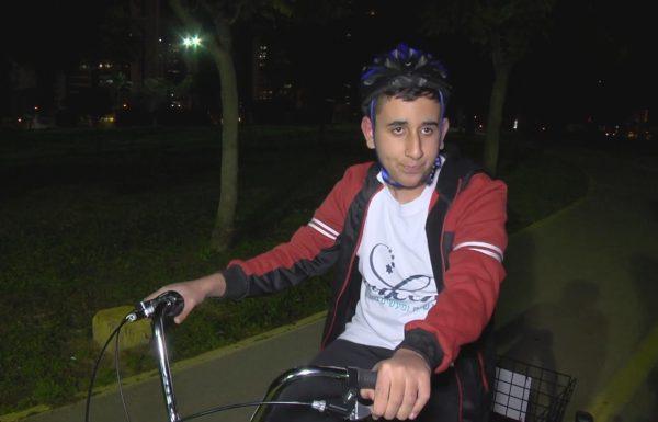 רפאל חולם לרכב על אופניים כמו כולם
