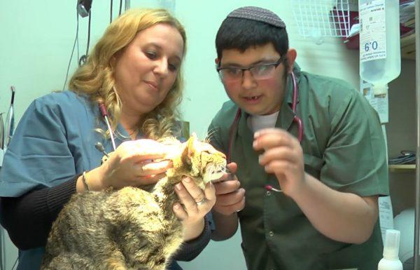 וטרינר ליום אחד: חננאל חולם לטפל בבעלי חיים
