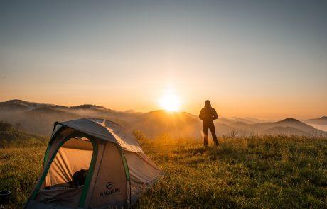 לינה בטבע: מאיר חולם על קמפינג